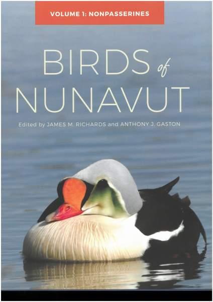 Birds of Nunavut volume 1 (cover)