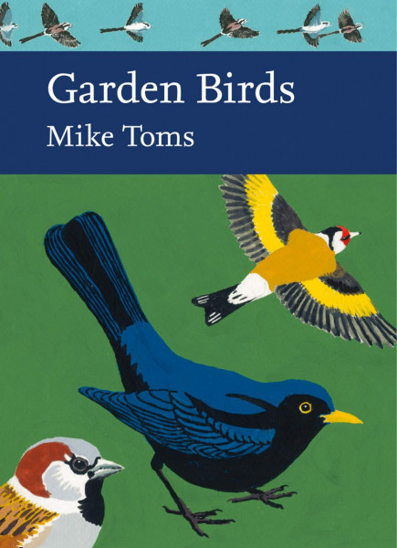 Garden birds book cover