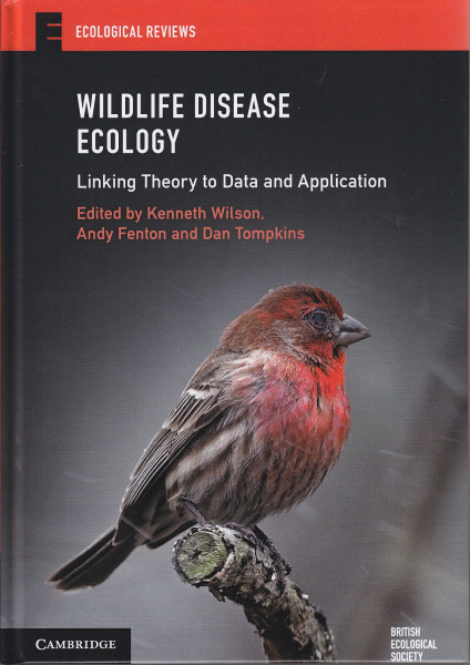Wildlife Disease Ecology (cover)