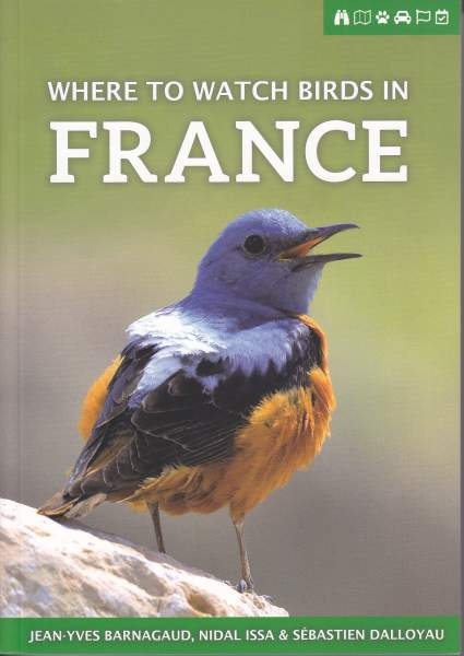 Where to Watch Birds in France (cover)