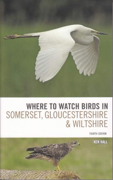 Where to Watch Birds in Somerset, Gloucestershire & Wiltshire (cover)