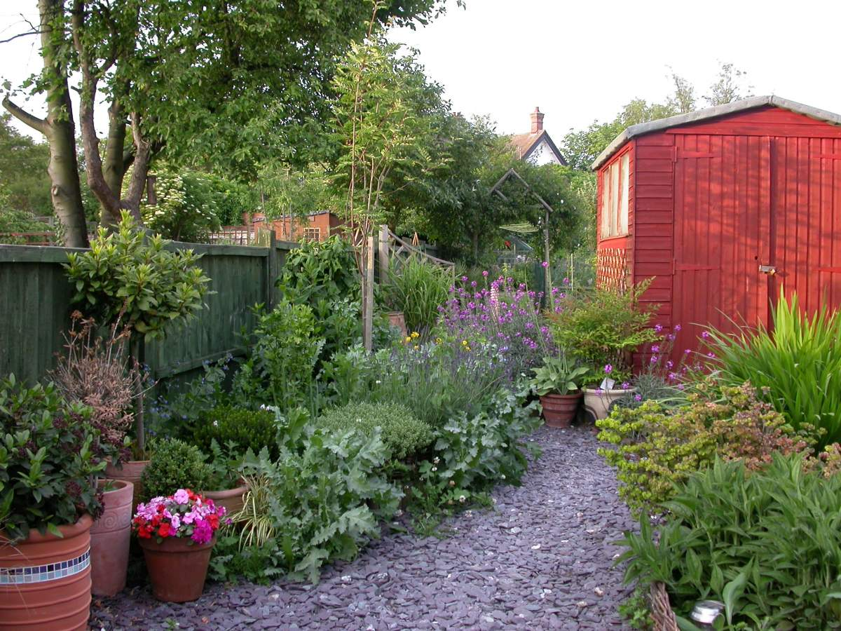 Providing for wildlife in your garden. Mike Toms