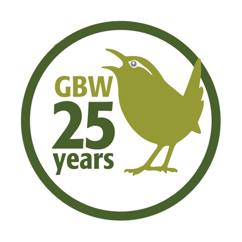 25 years of GBW logo