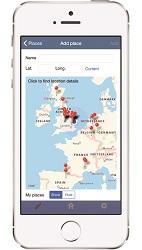 BirdTrack App 2016 place map