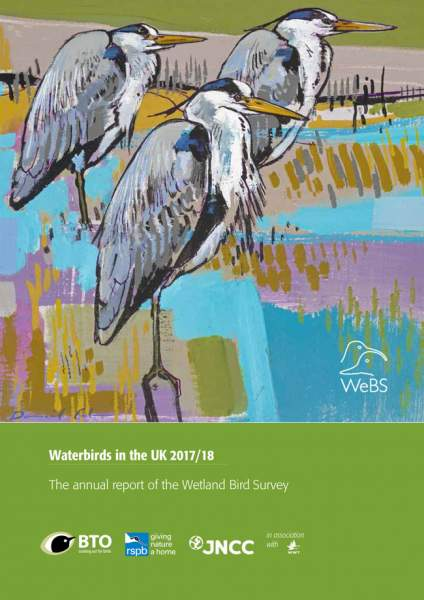 Waterbirds in the UK 2017 - 18 cover
