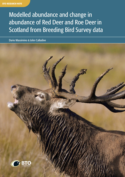 Red Deer & Roe Deer BTO Research Note