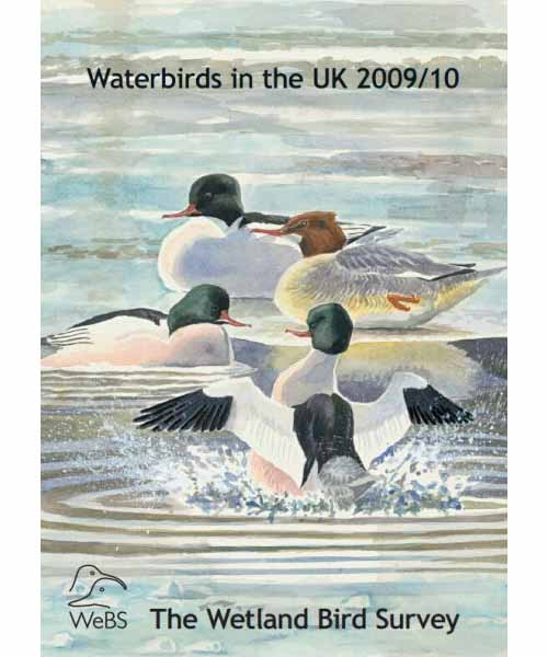 Waterbirds in the UK report -2009-10 cover