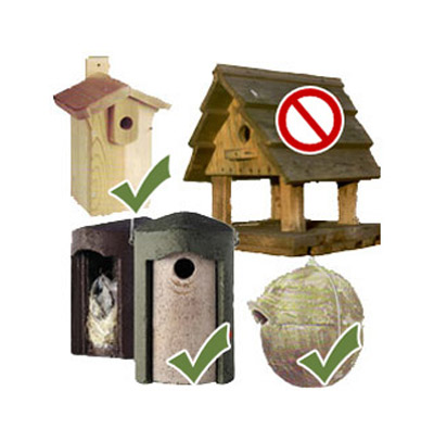 Commercial nest boxes