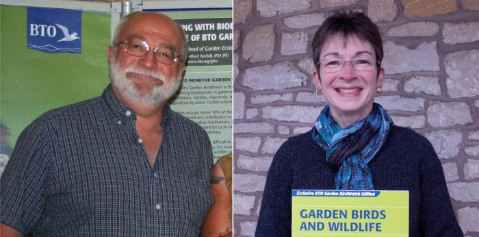 Garden BirdWatch Ambassador for Shropshire