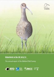 Waterbirds in the UK 2012/13 cover