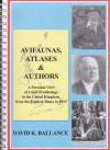 Avifaunas Atlases & Authors (cover)