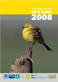 State of UK Birds 2008