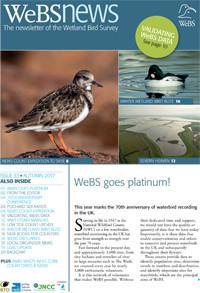 WeBS News 33 - Autumn 2017 cover