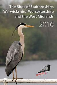 The Birds of Staffordshire, Warwickshire, Worcestershire and the West Midlands 2016 cover