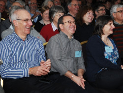 BTO staff and supporters at a conference