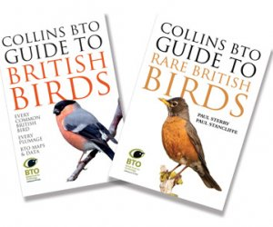 BTO guides to Common / Rare British Birds