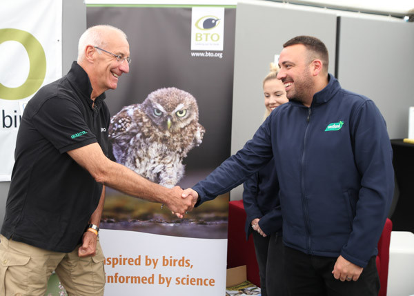 Andy Clements meeting with Westland Horticulture