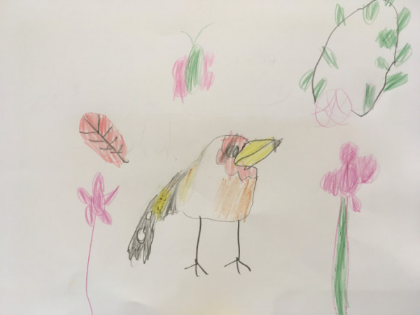 Drawing by Audrey, 5