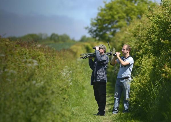 Volunteer surveyors. David Tipling