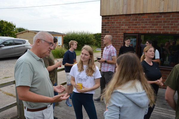 Spurn Young Leaders activity 2021. Faye Vogely