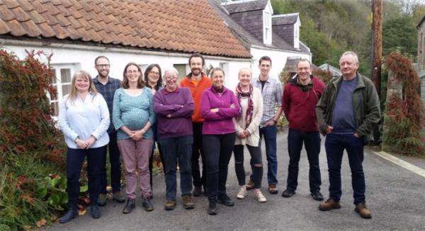 The BTO Scotland staff team