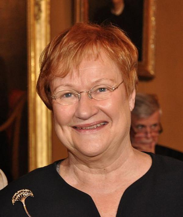 Tarja Halonen. Wikimedia
