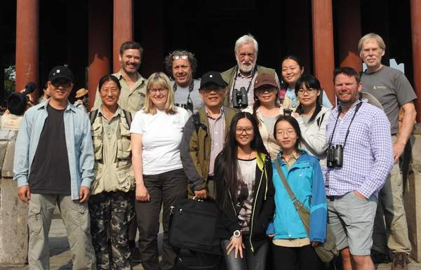 Team Cuckoo - Birding Beijing with Chris Hewson