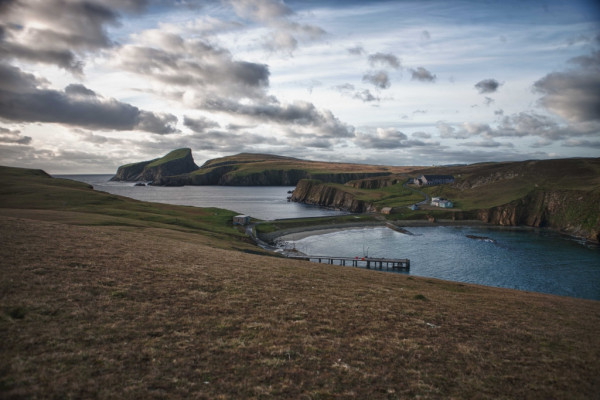 Fair Isle, The Havens by Andy Mason