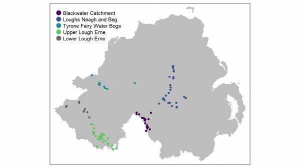 Lowland Breeding Wader sites