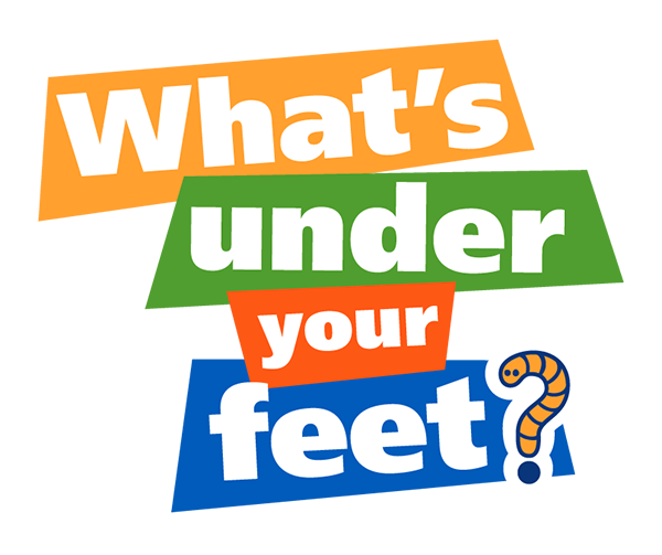 What's Under Your Feet project logo
