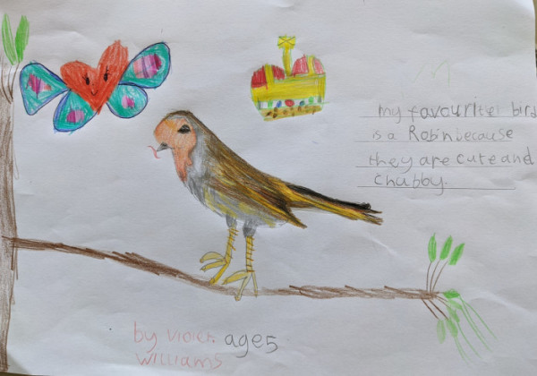Drawing by Violet, 5