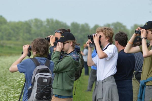 Young birders by Max Hellicar