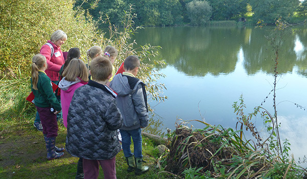 BTO Reserve - local school group visit