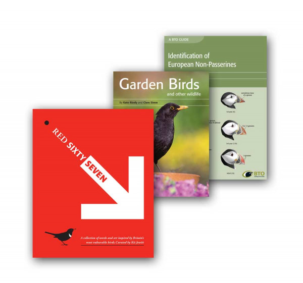 A selection of the books available in the BTO shop