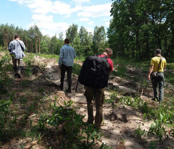 Polesia fieldwork expedition June 2019. Adham Ashton-Butt