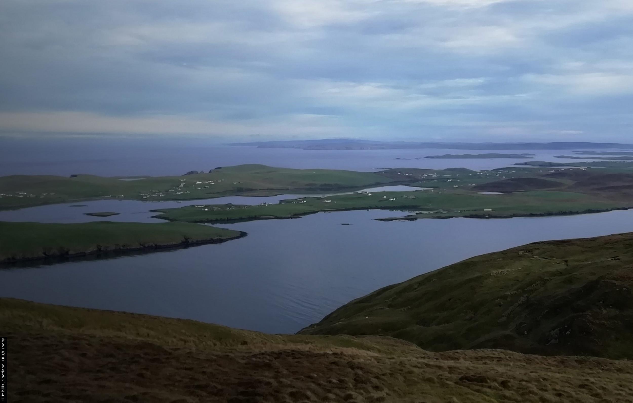 Clift hills, Shetland. Hugh Tooby