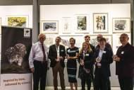 Brian Marsh and Award winners by Jake Davis