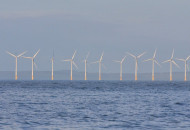 Wind farm, photograph by Tommy Holden