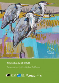 Waterbirds in the UK 2017-18 cover
