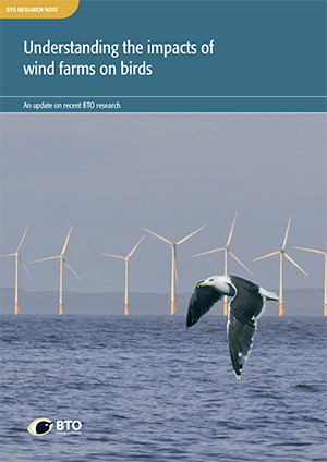 BTO Research Note  - Impact of wind farms cover