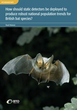Bat Detectors Research Note cover