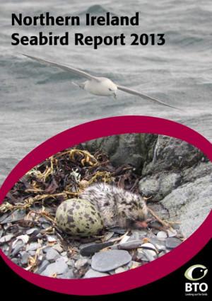 Northern Ireland Seabird Report 2013 cover