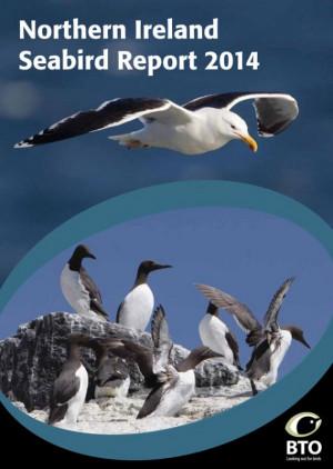 Northern Ireland Seabird Report 2014 cover