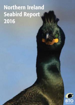 Northern Ireland Seabird Report 2016 cover
