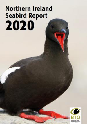 Northern Ireland Seabird Report 2020 cover