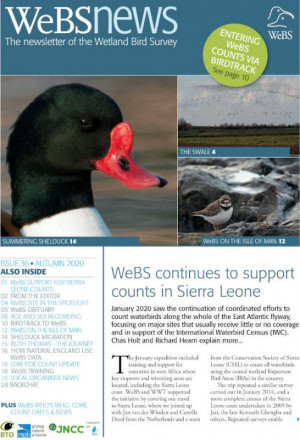 WeBS News issue 36 cover