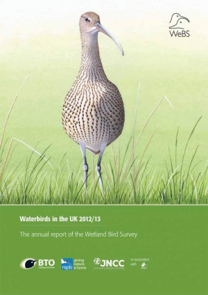 Waterbirds in the UK report -2012-13 cover