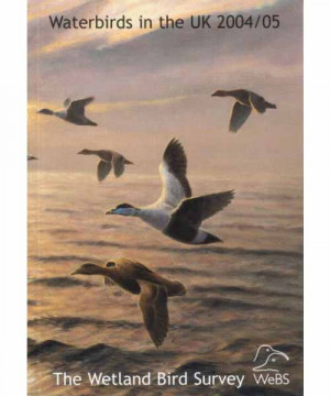 Waterbirds in the UK report -2004-05 cover
