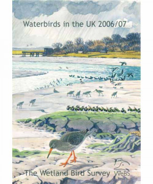 Waterbirds in the UK report -2006-07 cover