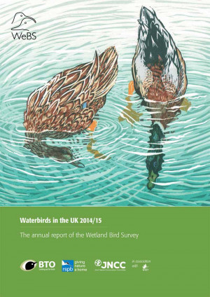 Waterbirds in the UK report -2014-15 cover